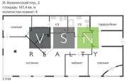 3 500 000 $, Продается квартира г.Москва, Малый Козихинский переулок, Купить квартиру в Москве, ID объекта - 320733741 - Фото 4