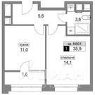 Купить квартиру от застройщика метро Румянцево