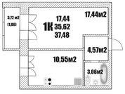Продажа квартиры, Вологда, Ул. Окружное шоссе, Купить квартиру в Вологде, ID объекта - 326374847 - Фото 8