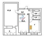 Просторная двухкомнатная квартира на комсомольской, Купить квартиру в Уфе, ID объекта - 330918596 - Фото 11