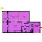 Энергетиков, 24 (1-комн, 51,2 м2), Купить квартиру в Барнауле, ID объекта - 331006310 - Фото 3